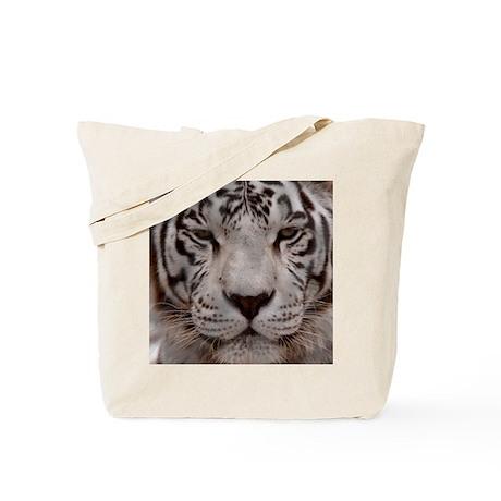 (15s) White Tiger 4 Tote Bag