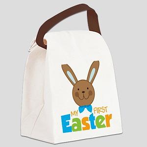 1stEasterBunny Canvas Lunch Bag