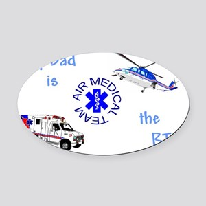 Dad RTcamts Oval Car Magnet