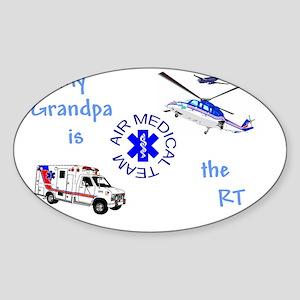GrandpaRTcamts Sticker (Oval)