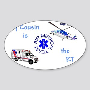 CousinRTcamts Sticker (Oval)