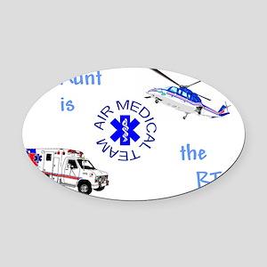 AuntRTcamts Oval Car Magnet
