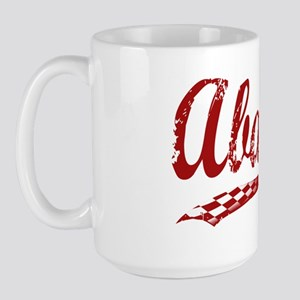 Abarth_red Large Mug