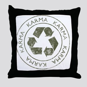 Karma3 Throw Pillow