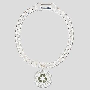 Karma3 Charm Bracelet, One Charm