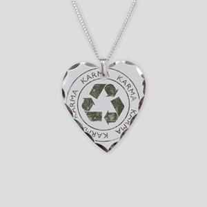Karma3 Necklace Heart Charm