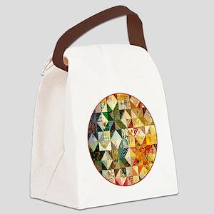 patchwk _Button2_Lg Canvas Lunch Bag