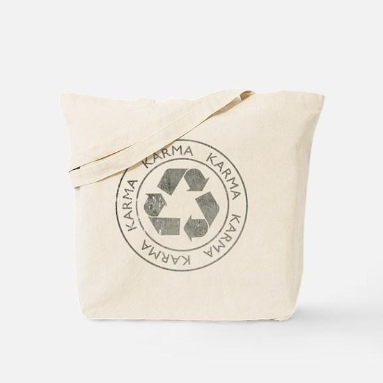 Karma3Bk Tote Bag
