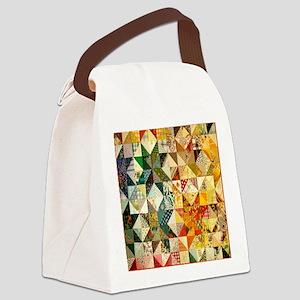 patchwk 11x11_pillow Canvas Lunch Bag