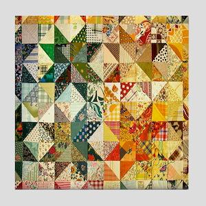patchwk 11x11_pillow Tile Coaster