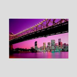 large print_0052_Australia1 (2) Rectangle Magnet