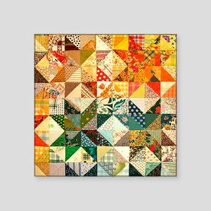 "patchwk_Tile3 Square Sticker 3"" x 3"""