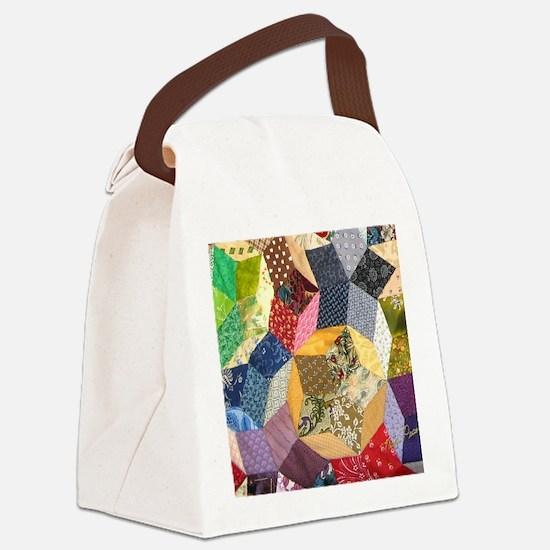 blocks2_puzzle_v Canvas Lunch Bag