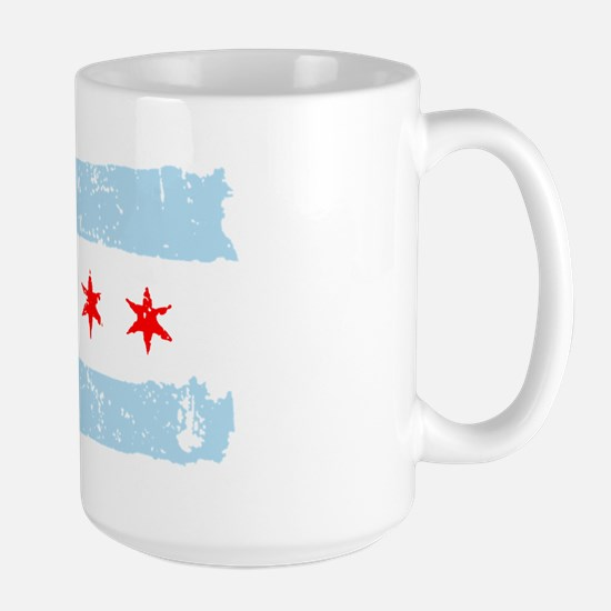 Flag of Chicago Large Mug