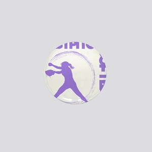 purple2, Fastpitch trio Mini Button