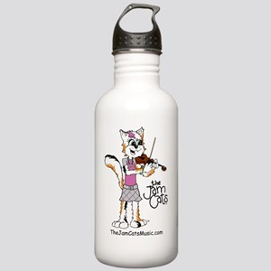 Jezzie with Violin Stainless Water Bottle 1.0L