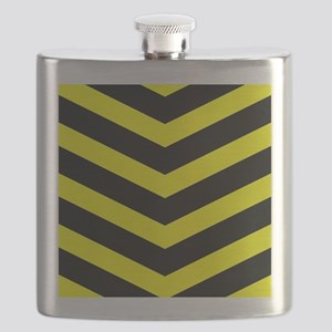 TrafficYellowChevrons2-1 Flask