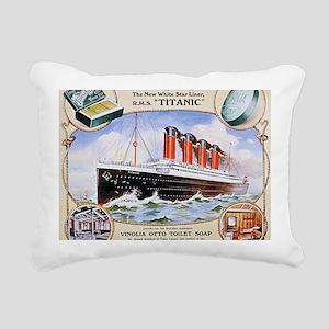 RMS_Titanic_1 Rectangular Canvas Pillow
