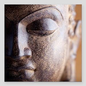 "buddha Square Car Magnet 3"" x 3"""