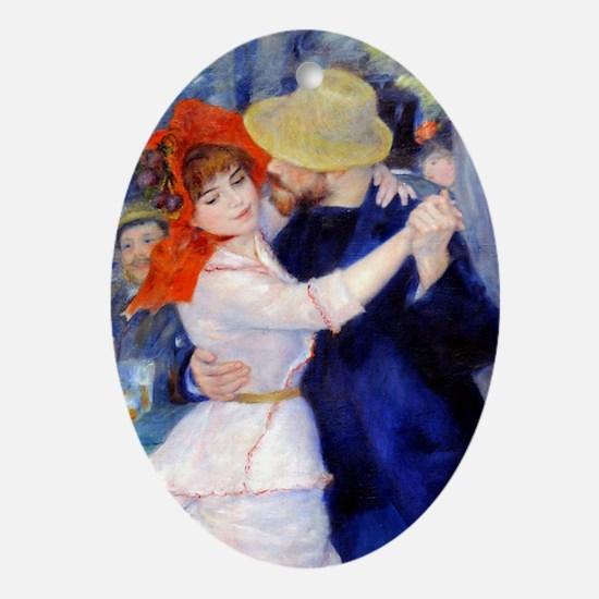 Renoir Mag33 Oval Ornament