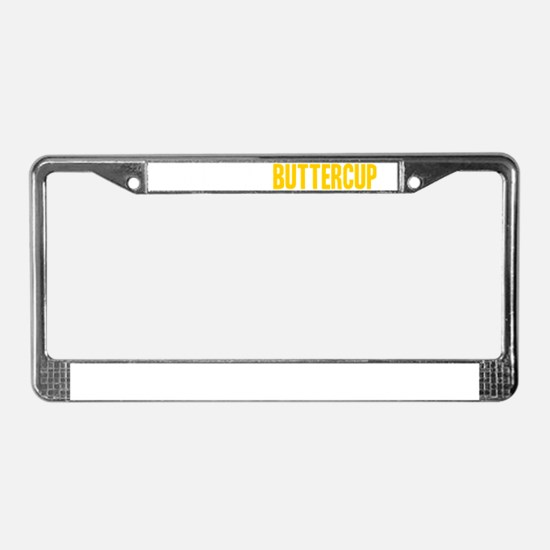 Suck It Up, Buttercup License Plate Frame