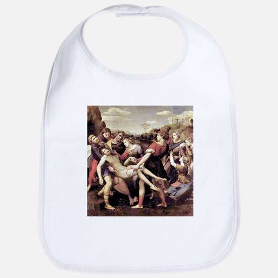 The Deposition - Raphael Cotton Baby Bib