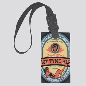 dev-girl-ale-OV Large Luggage Tag