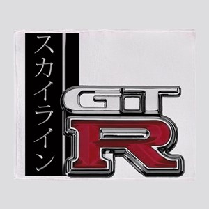 GTR-Katakana Throw Blanket