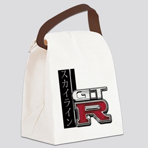 GTR-Katakana Canvas Lunch Bag