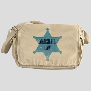 marshallLaw_tshirt_white Messenger Bag