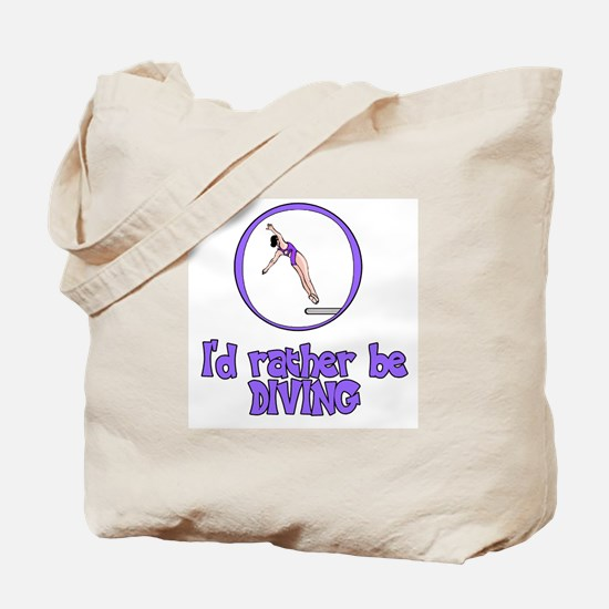 DiveChick Rather Tote Bag