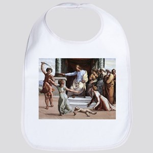 The Judgement of Solomon - Raphael Cotton Baby Bib
