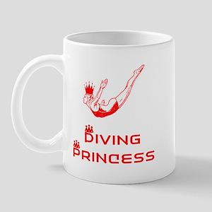 DiveChick Princess Mug