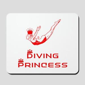 DiveChick Princess Mousepad
