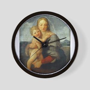 The Mackintosh Madonna - Raphael Wall Clock