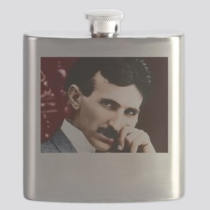 Tesla_white Flask