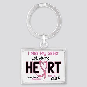 - Miss With All My Heart Sister Landscape Keychain