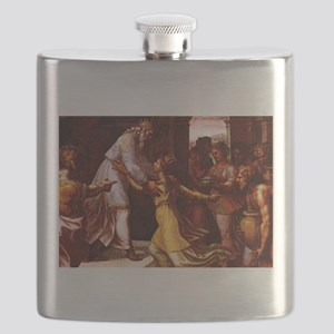 The Queen of Sheba - Raphael Flask