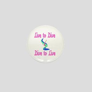 DiveChick LTD Mini Button