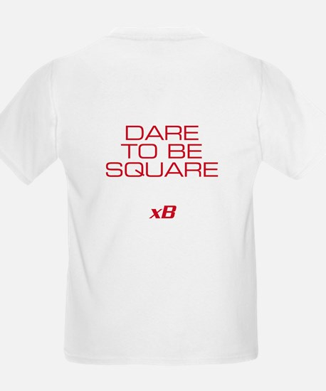 Dare To Be Square version 2 Kids T-Shirt