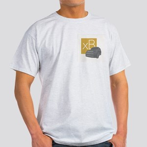 Dare To Be Square version 2 Ash Grey T-Shirt