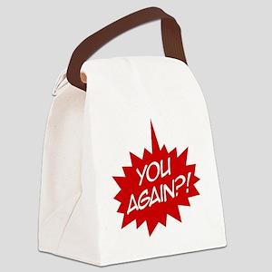 you again t-shirt Canvas Lunch Bag