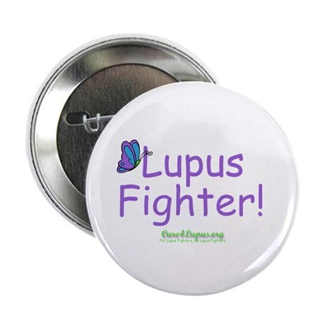 """Lupus Fighter 2.25"""" Button (100 pack)"""