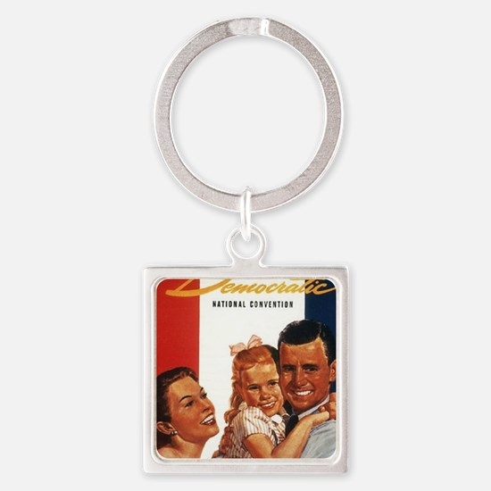 ART 1956 Democratic convention Square Keychain
