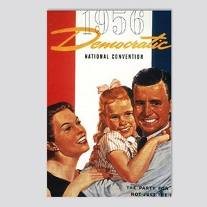ART 1956 Democratic conve Postcards (Package of 8)