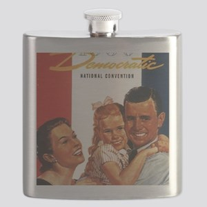 ART 1956 Democratic convention Flask