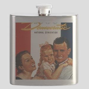 ART 1956 Democratic convention Flask