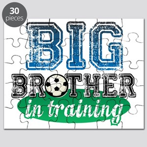 big brother in training soccer  Puzzle