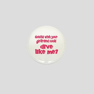 DiveChick's Doncha Mini Button