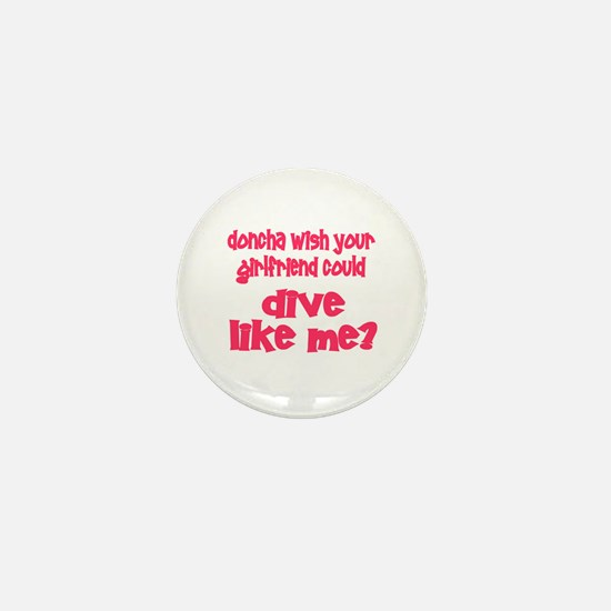 DiveChick's Doncha Mini Button